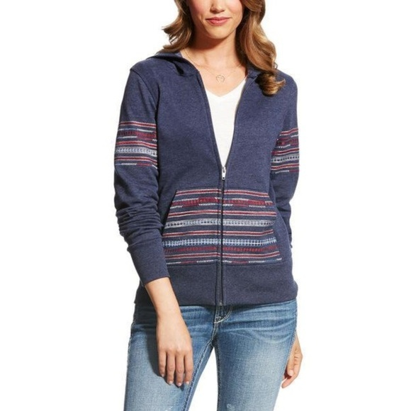 Ariat Tops - Ariat Women's Medium Lynette Full Zip Hoodie